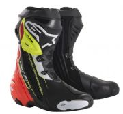 Alpinestars Supertech R Boots Black/Red/Yellow